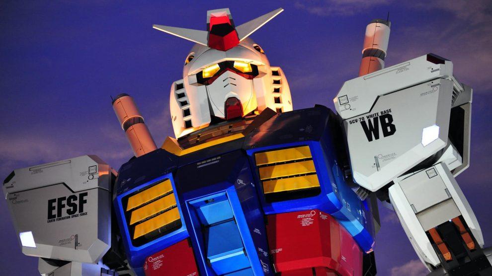 Gundam Anime Statue